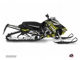 Yamaha Sidewinder Snowmobile Keen Graphic Kit Neon Grey