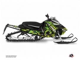 Kit Déco Motoneige Keen Yamaha Sidewinder Vert