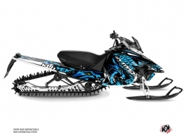 Yamaha SR Viper Snowmobile Keen Graphic Kit Blue