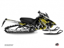 Yamaha SR Viper Snowmobile Keen Graphic Kit Grey Yellow