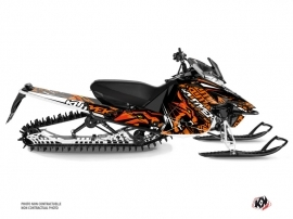 Yamaha SR Viper Snowmobile Keen Graphic Kit Orange