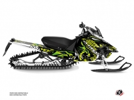Yamaha SR Viper Snowmobile Keen Graphic Kit Green