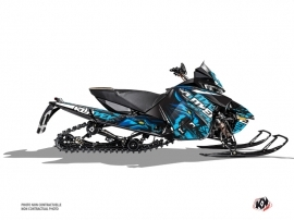 Arctic Cat Thundercat Snowmobile Keen Graphic Kit Blue