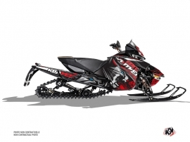 Arctic Cat Thundercat Snowmobile Keen Graphic Kit Grey Red
