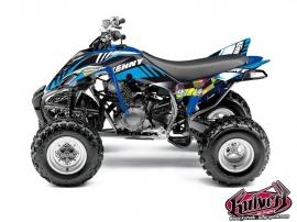 Kit Déco Quad Kenny Yamaha 350 Raptor Bleu