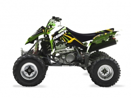 Kawasaki 400 KFX ATV Kenny Graphic Kit