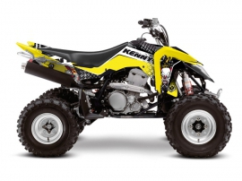 Suzuki 400 LTZ IE ATV Kenny Graphic Kit
