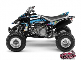Kit Déco Quad Kenny Yamaha 450 YFZ Bleu
