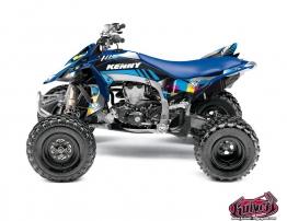 Kit Déco Quad Kenny Yamaha 450 YFZ R Bleu