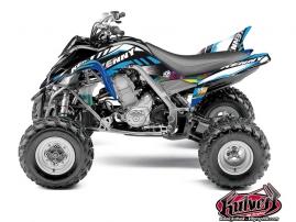 Kit Déco Quad Kenny Yamaha 700 Raptor Bleu