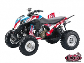 Honda 700 TRX ATV Kenny Graphic Kit