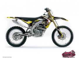 Suzuki 85 RM Dirt Bike Kenny Graphic Kit