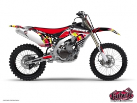 Kit Déco Moto Cross Kenny Yamaha 85 YZ Rouge