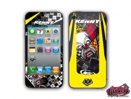 Kit Déco Accessoires KENNY KUTVEK Stickers iPhone