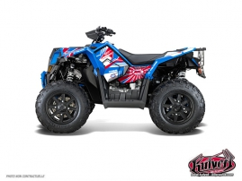 Kit Déco Quad Kenny Polaris Scrambler 850-1000 XP Patriot FULL