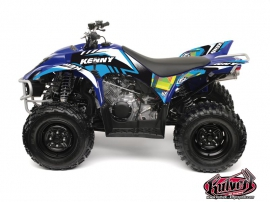Yamaha 350-450 Wolverine ATV Kenny Graphic Kit Blue