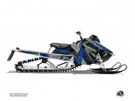 Kit Déco Motoneige Klimb Polaris Axys Bleu