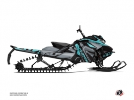 Skidoo Gen 4 Snowmobile Klimb Graphic Kit Cyan