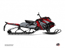 Skidoo Gen 4 Snowmobile Klimb Graphic Kit Red