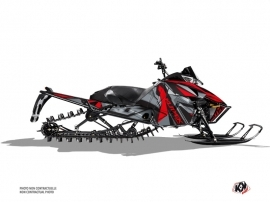 Arctic Cat Pro Climb Snowmobile Klimb Graphic Kit Red