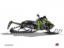 Arctic Cat Pro Climb Snowmobile Klimb Graphic Kit Green