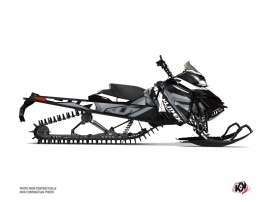 Skidoo REV XM Snowmobile Klimb Graphic Kit White