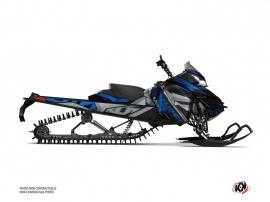 Kit Déco Motoneige Klimb Skidoo REV XM Bleu