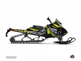 Skidoo REV XM Snowmobile Klimb Graphic Kit Yellow