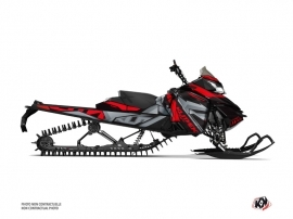Skidoo REV XM Snowmobile Klimb Graphic Kit Red