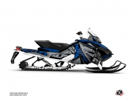 Skidoo REV XP Snowmobile Klimb Graphic Kit Blue