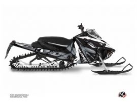 Yamaha Sidewinder Snowmobile Klimb Graphic Kit White