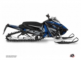 Yamaha Sidewinder Snowmobile Klimb Graphic Kit Blue