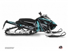Yamaha Sidewinder Snowmobile Klimb Graphic Kit Cyan