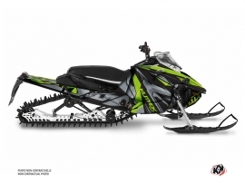 Yamaha Sidewinder Snowmobile Klimb Graphic Kit Green