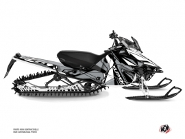 Yamaha SR Viper Snowmobile Klimb Graphic Kit White