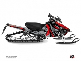 Yamaha SR Viper Snowmobile Klimb Graphic Kit Red