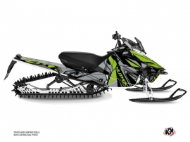 Yamaha SR Viper Snowmobile Klimb Graphic Kit Green