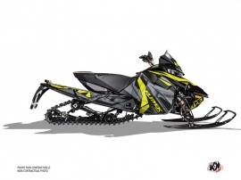 Arctic Cat Thundercat Snowmobile Klimb Graphic Kit Yellow