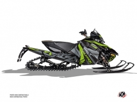 Arctic Cat Thundercat Snowmobile Klimb Graphic Kit Green