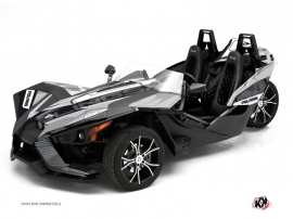 Polaris Slingshot Roadster Knight Graphic Kit Grey