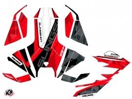 Kit Déco Hybride Knight Polaris Slingshot Rouge