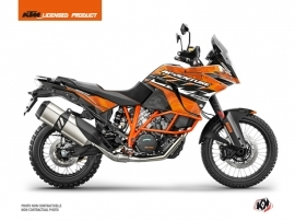 KTM 1090 Adventure R Street Bike Kombat Graphic Kit Orange