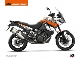 Kit Déco Moto Kombat KTM 1190 Adventure Gris Orange