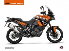 KTM 1290 Super Adventure S Street Bike Kombat Graphic Kit Orange