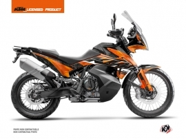 KTM 790 Adventure Street Bike Kombat Graphic Kit Orange