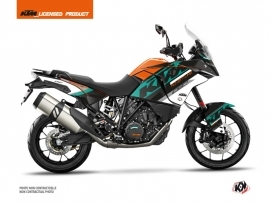 KTM 1090 Adventure Street Bike Kontrol Graphic Kit Orange White