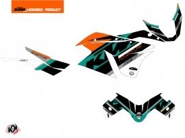 KTM 1190 Adventure Street Bike Kontrol Graphic Kit Orange White