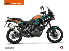 KTM 1290 Super Adventure S Street Bike Kontrol Graphic Kit Orange White