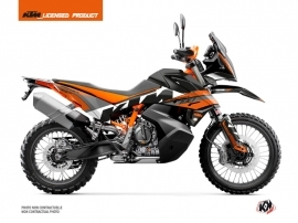 KTM 790 Adventure R Street Bike Kontrol Graphic Kit Orange