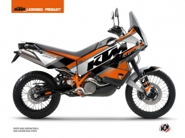 KTM 990 Adventure Street Bike Kontrol Graphic Kit Orange